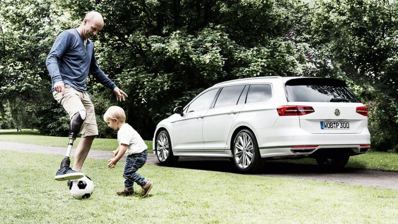 Volkswagen Fahrhilfen für Menschen mit Handicap