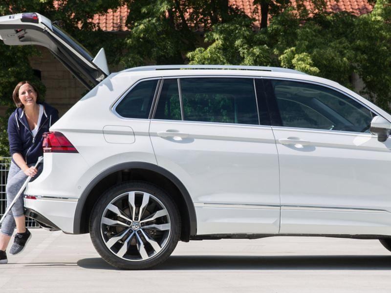 Volkswagen Fahrhilfen für Menschen mit Handicap, Franziska