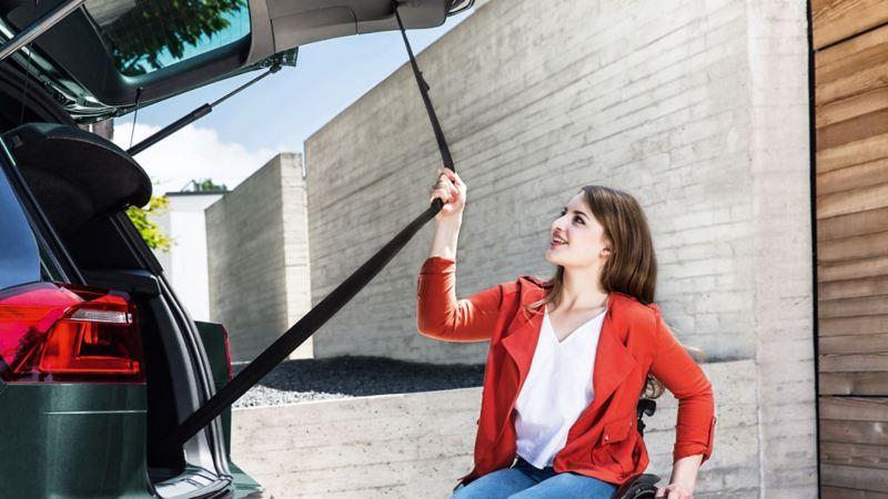 Volkswagen Fahrhilfen für Menschen mit Handicap – Vorteile