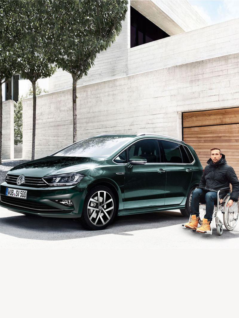 Volkswagen für Menschen mit Handicap
