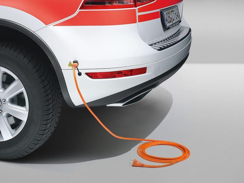 Volkswagen für Rettungsdienste – Externe Spannungseinspeisung