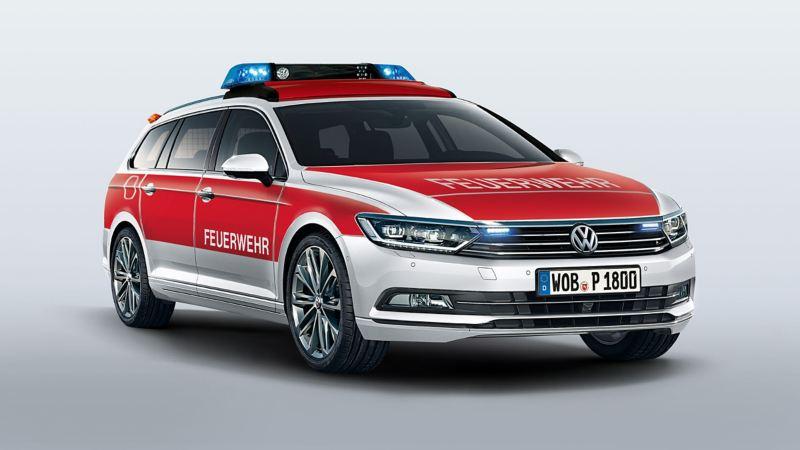 Volkswagen für Rettungsdienste – Passat Variant als Feuerwehr Kommandowagen KdoW