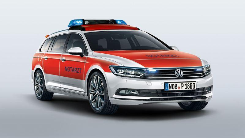 Volkswagen für Rettungsdienste – Passat Variant als Notarzteinsatzfahrzeug NEF