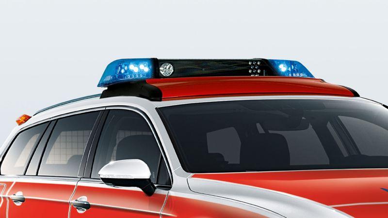 Volkswagen für Rettungsdienste – Sondersignalanlage