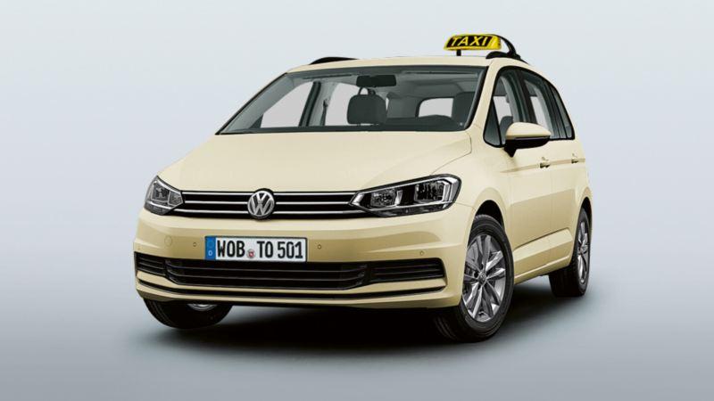 Volkswagen Sonderfahrzeuge. Taxi und Mietwagen