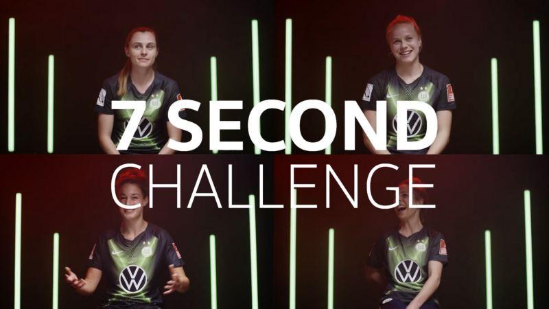 Seven second challenge VfL Wolfsburg Frauen