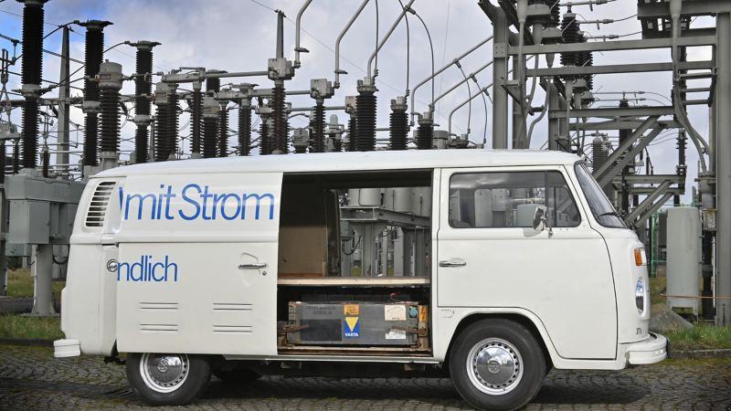 Powrót do przyszłości: Volkswagen Samochody Dostawcze, na wystawie Techno Classica prezentuje pioniera mobilności elektrycznej