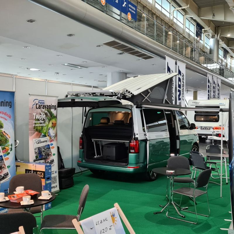Volkswagen California 6.1 na Caravans Salon Poland 2020
