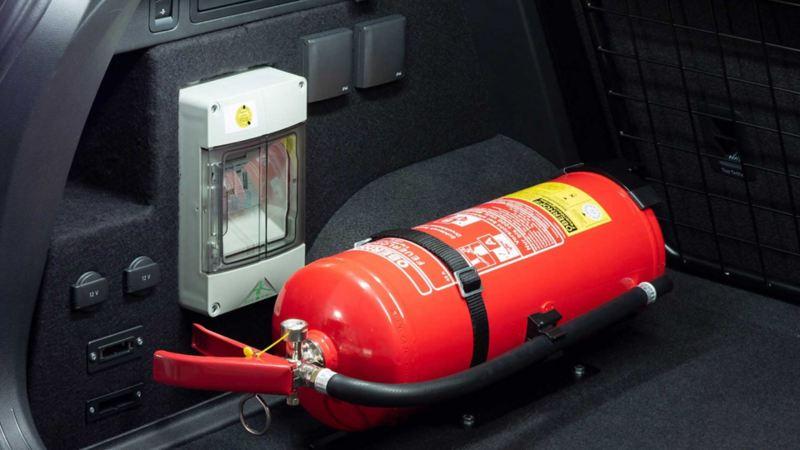 Volkswagen für Rettungsdienste – Zusatzsteckdosen