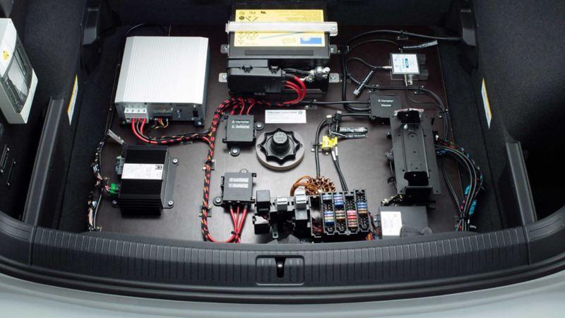 Volkswagen für Rettungsdienste – Funkvorbereitung