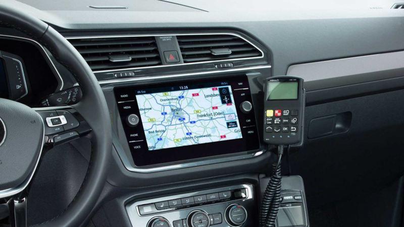 Volkswagen für Rettungsdienste – Bedienteil