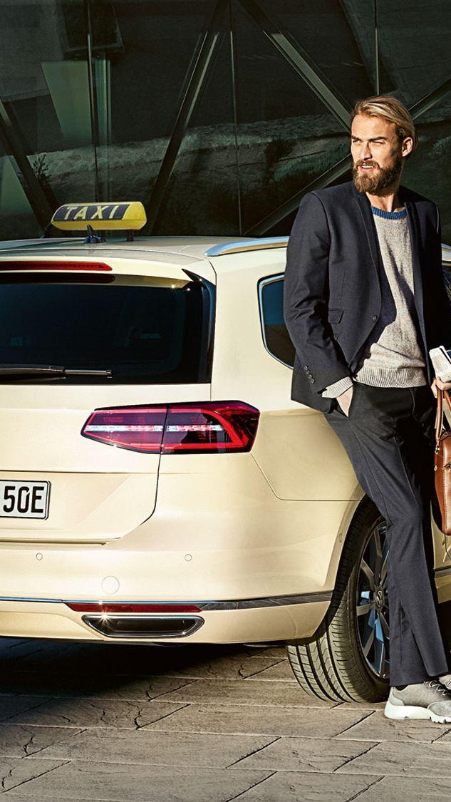 Volkswagen für Taxi- und Mietwagen-Unternehmen