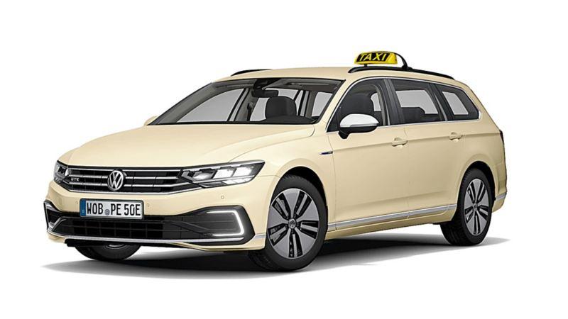 Der neue Passat GTE Variant als Taxi und Mietwagen