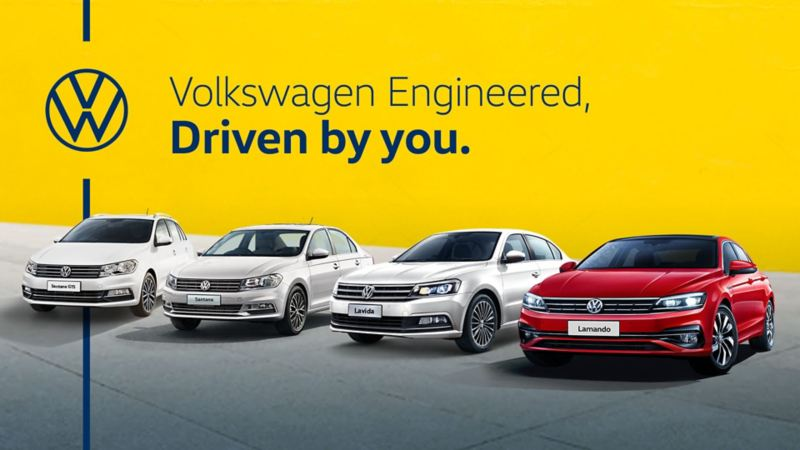 Volkswagen engineered, driven by you.