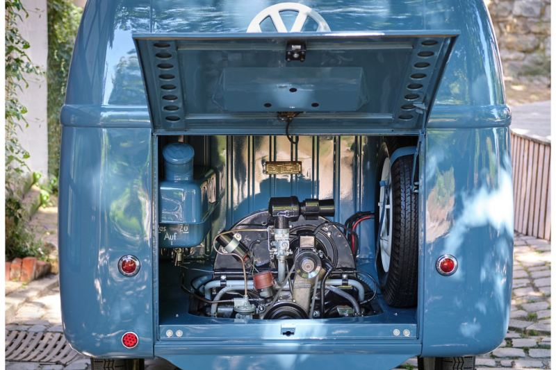 Silnik w Volkswagenie Bulli