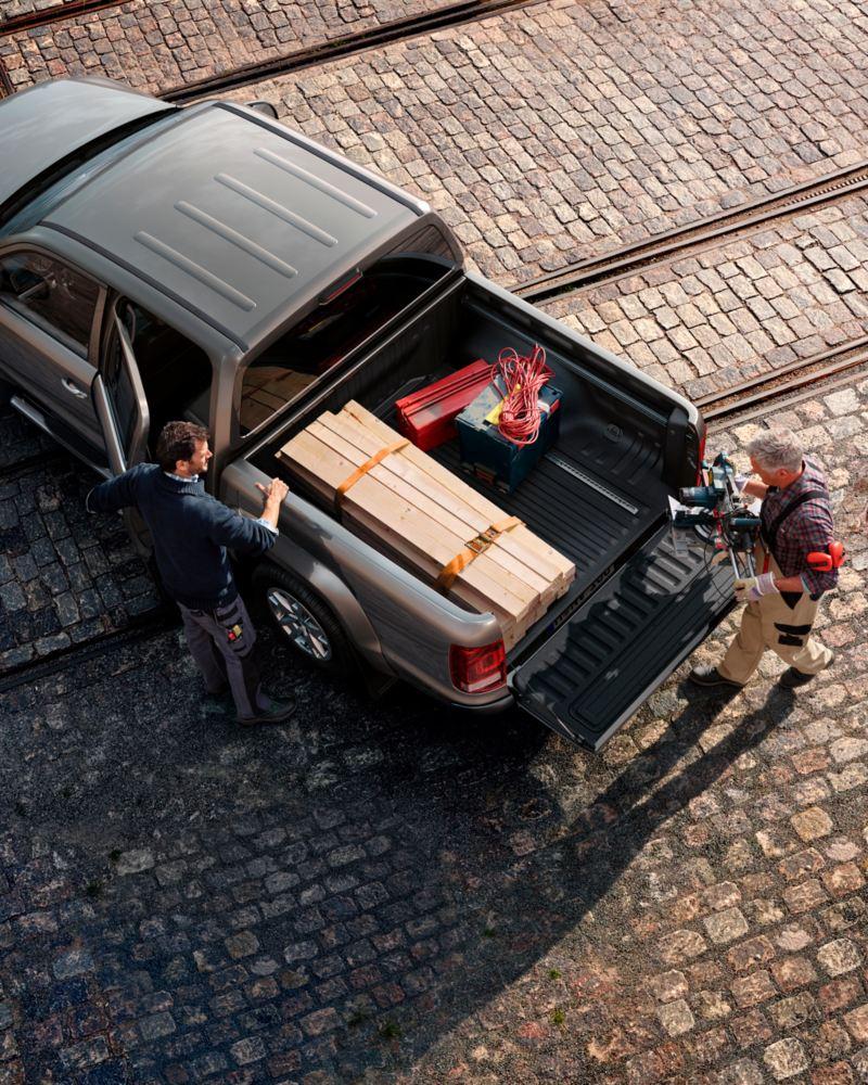 volkswagen amarok pickup carga