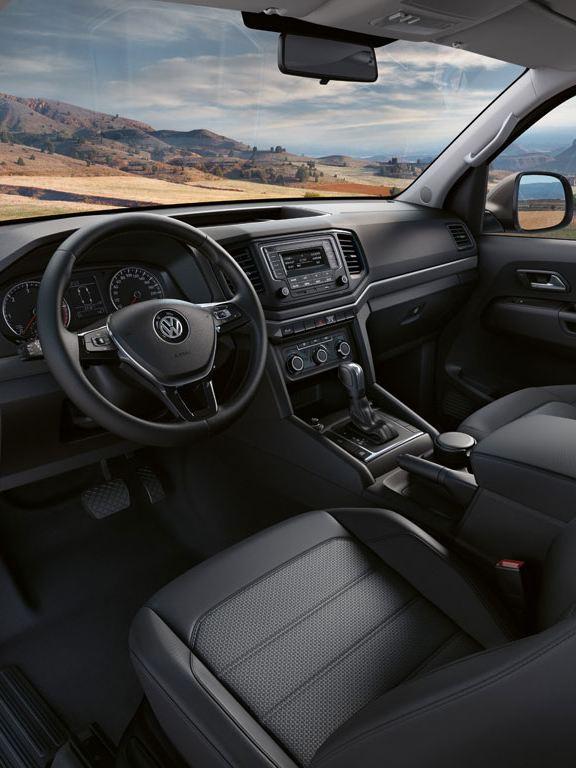 volkswagen amarok diseño interior
