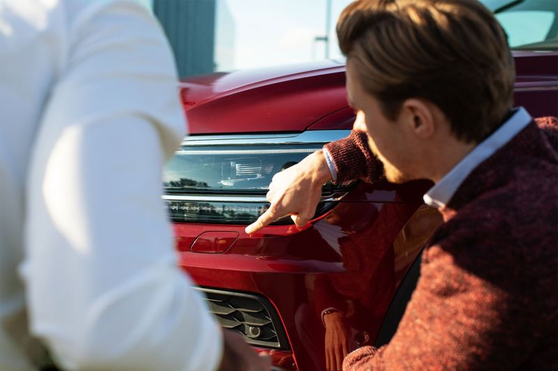 Servizio riparazione carrozzeria e vernice Volkswagen