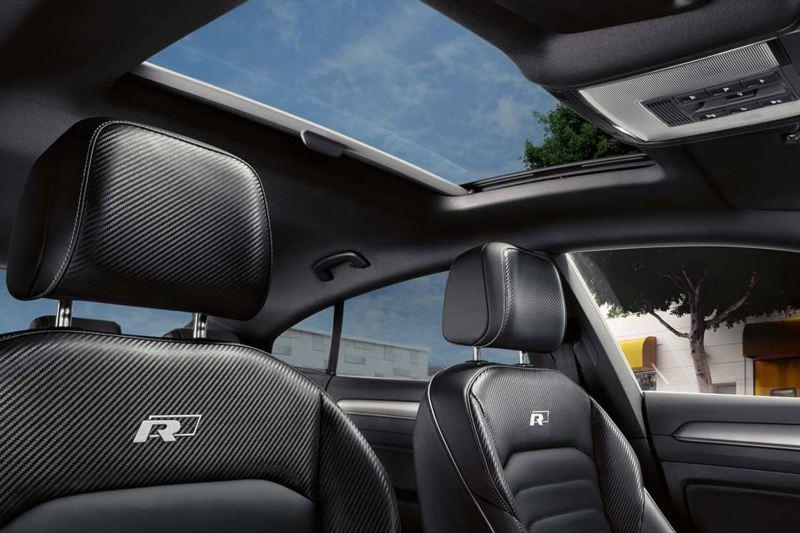 Diseño de los asientos delanteros R del Volkswagen Arteon