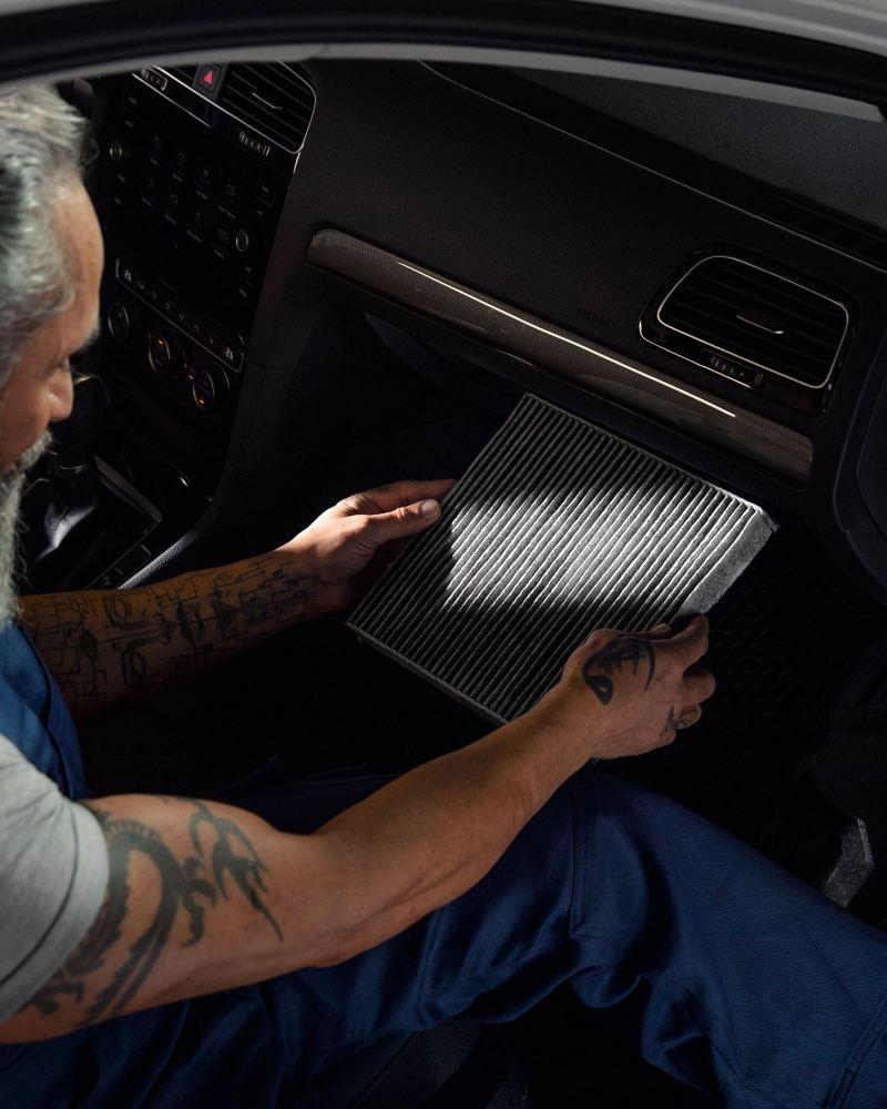 抗過敏原活性碳車內空氣過濾器