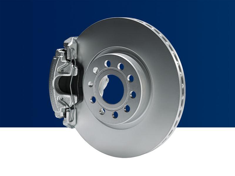 Phanh chính hãng Volkswagen với hệ thống phanh tiêu chuẩn ECE-R90