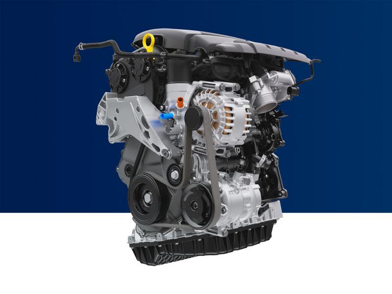 Mặt cắt ngang động cơ chính hãng Volkswagen