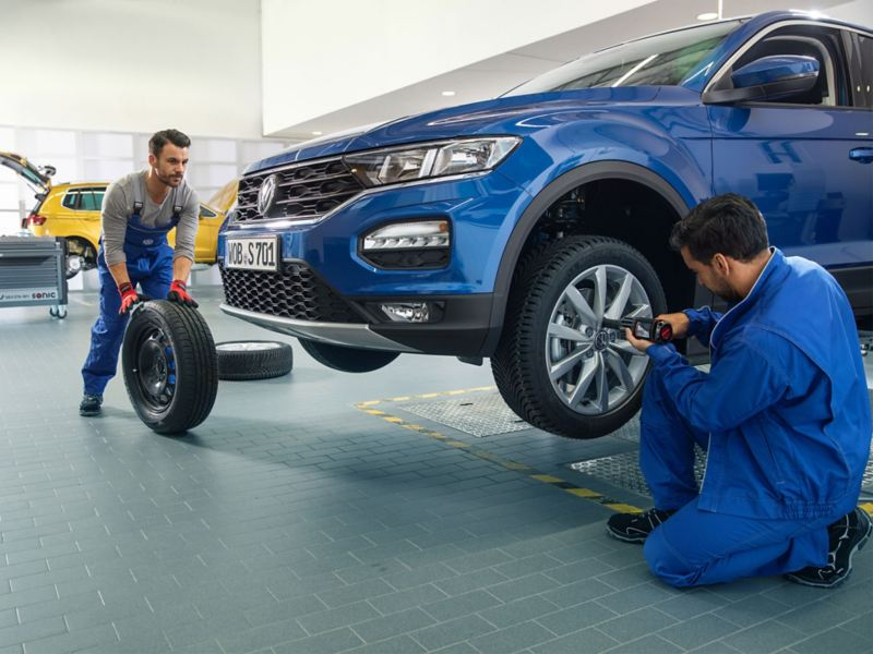 Sostituzione pneumatico Volkswagen Service