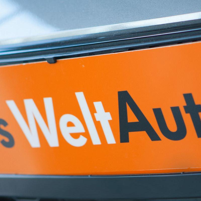 Das WeltAuto Logo als Kennzeichnen