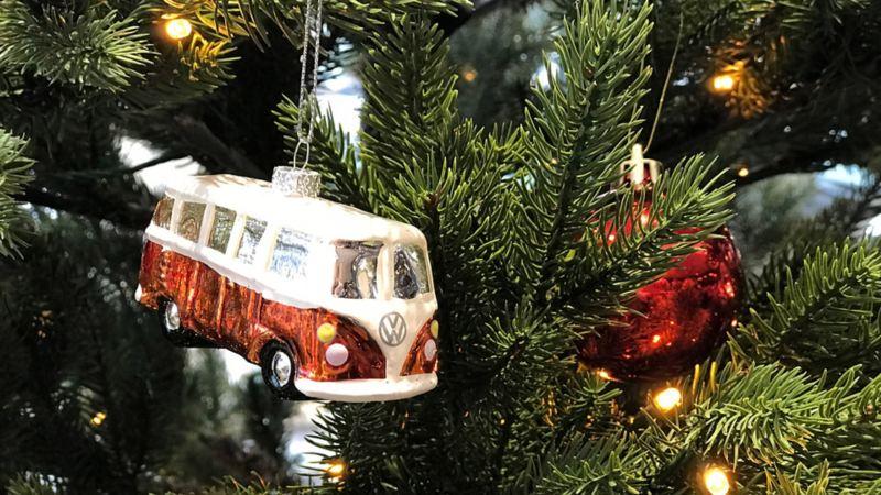 vw Volkswagen kundeservice kontakt oss julepynt bulli juletre julekule julelys