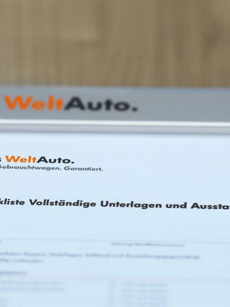 Checkliste Das WeltAuto