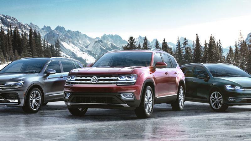 La famille 4Motion de Volkswagen