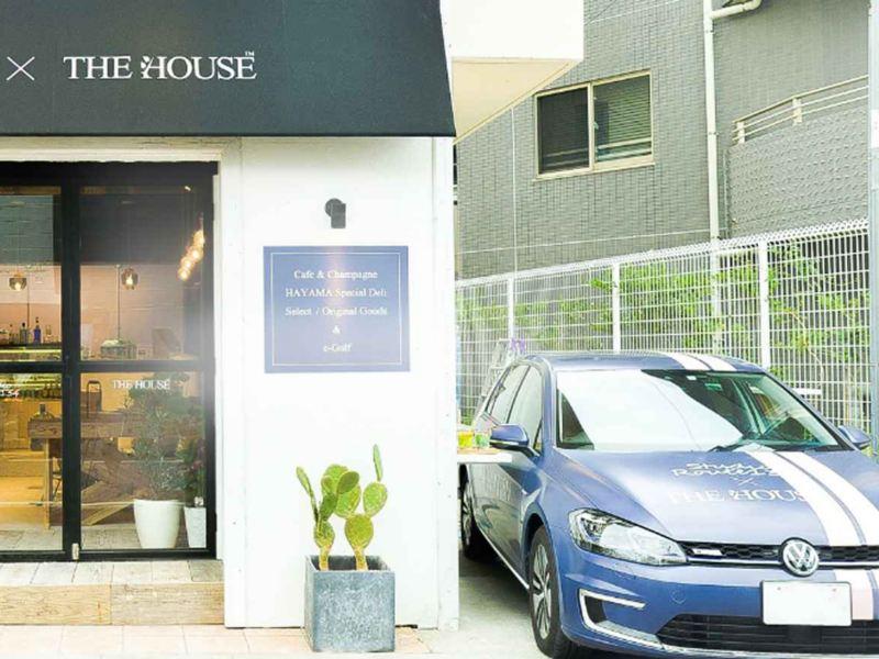 e-ゴルフを使える、コラボカフェが葉山に誕生!
