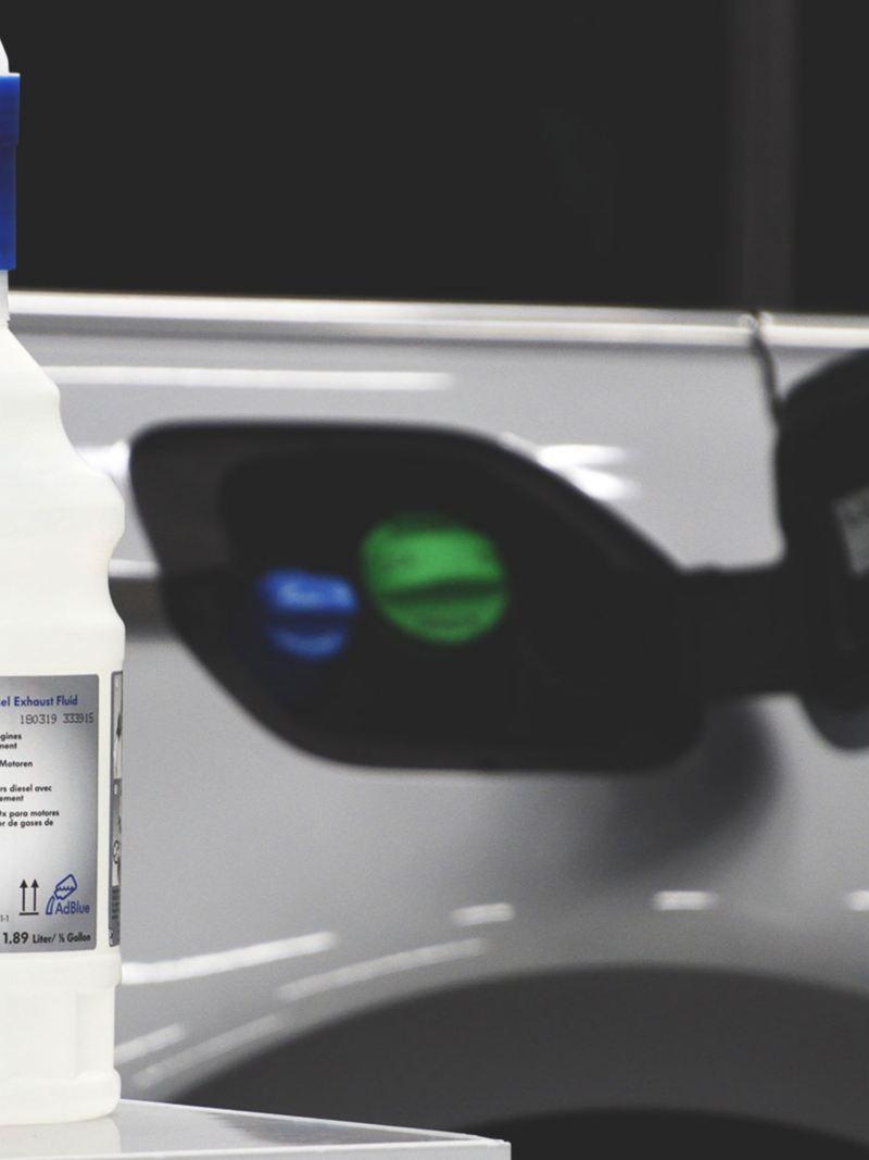 AdBlue®は走行に応じて補充(AdBlue®1.89ℓボトル)
