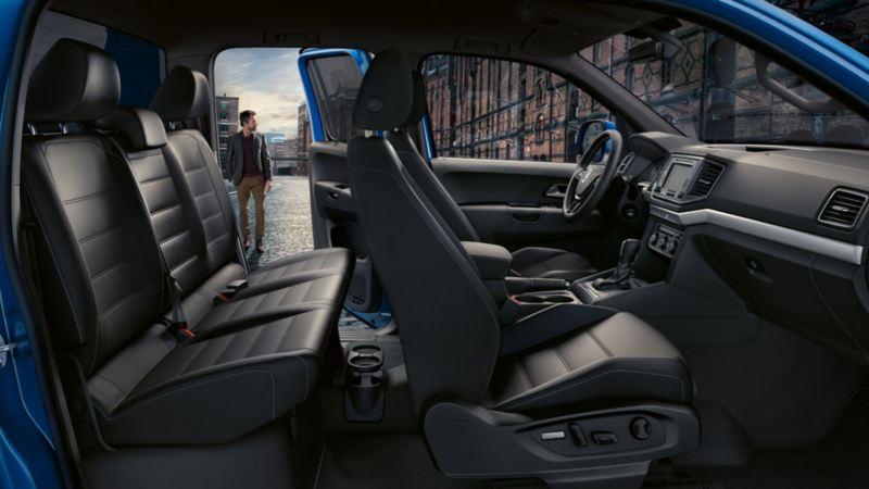 amarok asientos diseño interior