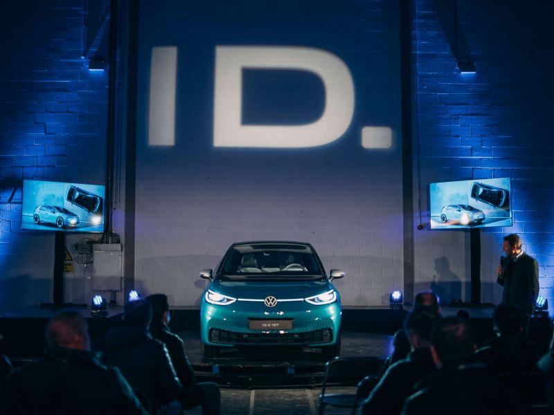 ID.3 on stage