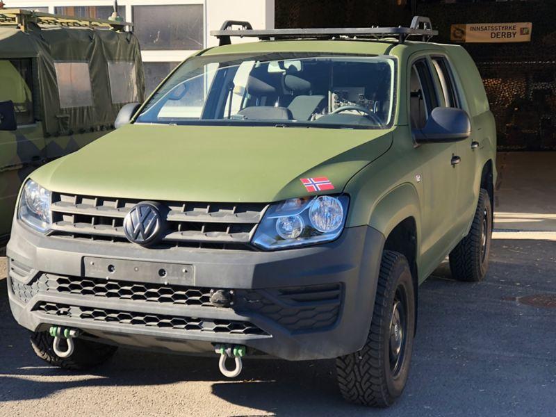 vw Volkswagen Amarok forsvaret gikk for pickup fra Volkswagen Nyttekjøretøy