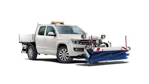Amarok Pick-up veegdiensten