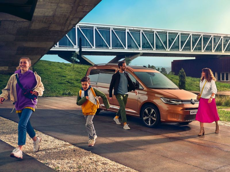 Nowy Volkswagen Caddy jako samochód rodzinny
