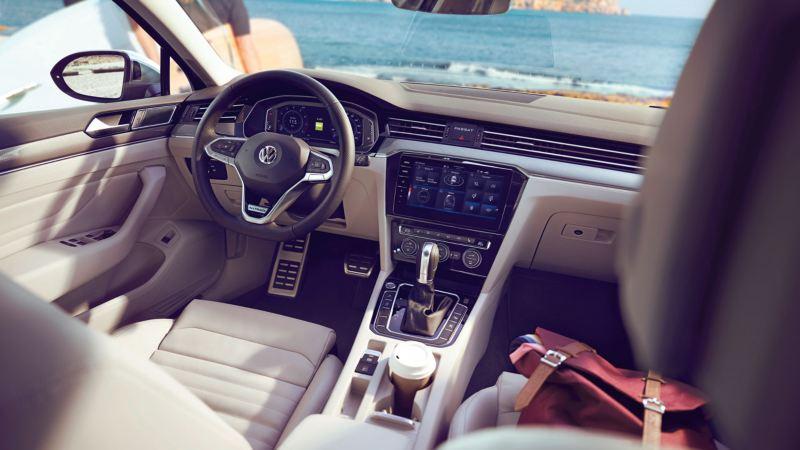 Vista interior del Volkswagen Passat Alltrack