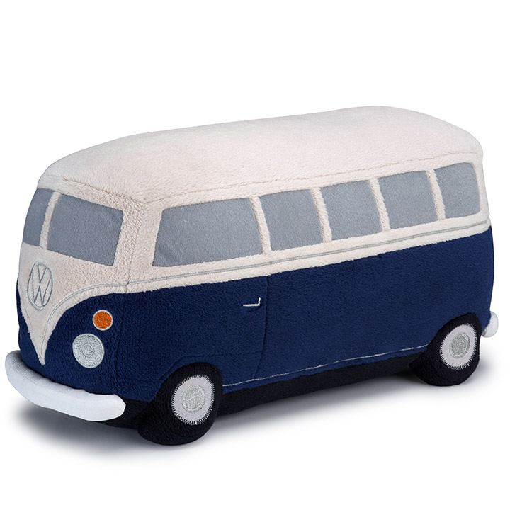 Peluche en forma de autobús combi disponible en colección Vintage de VW Collection