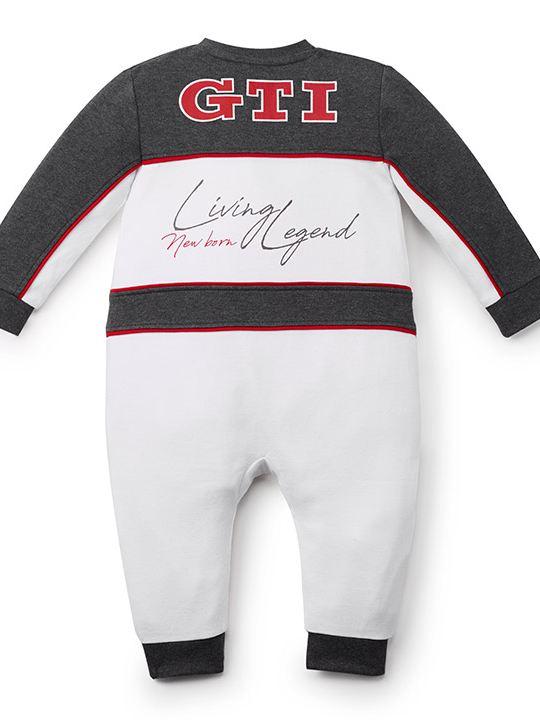 Mameluco para bebés estilo piloto disponible en la collección GTI de Volkswagen