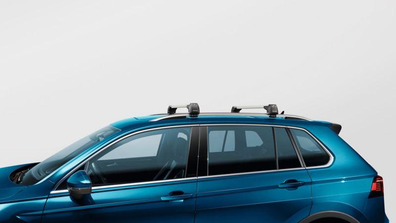 Takstativ for transport av ski på VW Volkswagen Tiguan SUV
