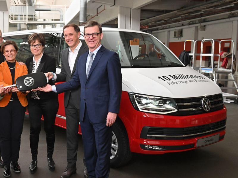 10 millioner solgte Nyttekjøretøy fra Volkswagen