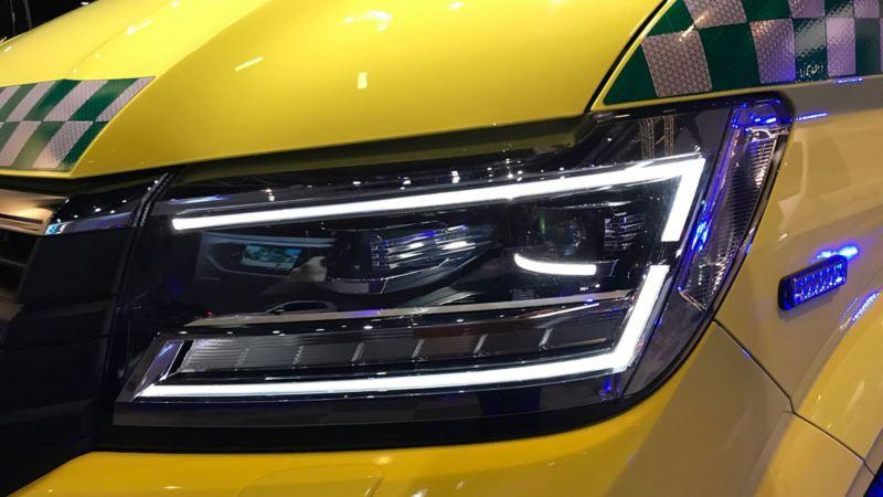 vw Volkswagen Crafter Ambulanse utrykningskjøretøy