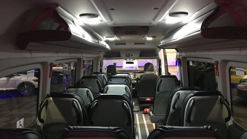 vw Volkswagen Crafter minibuss maxitaxi persontransport taxi drosje 16 seter