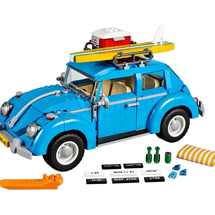 Vocho lego disponible en VW Collection Vintage