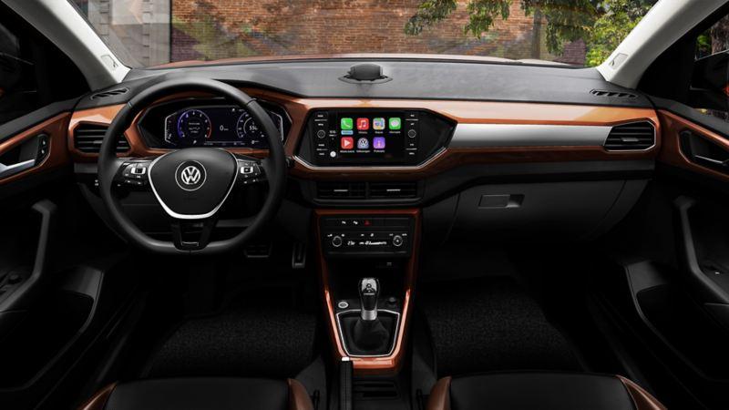 Cabina de T-Cross - SUV Inteligente de Volkswagen México