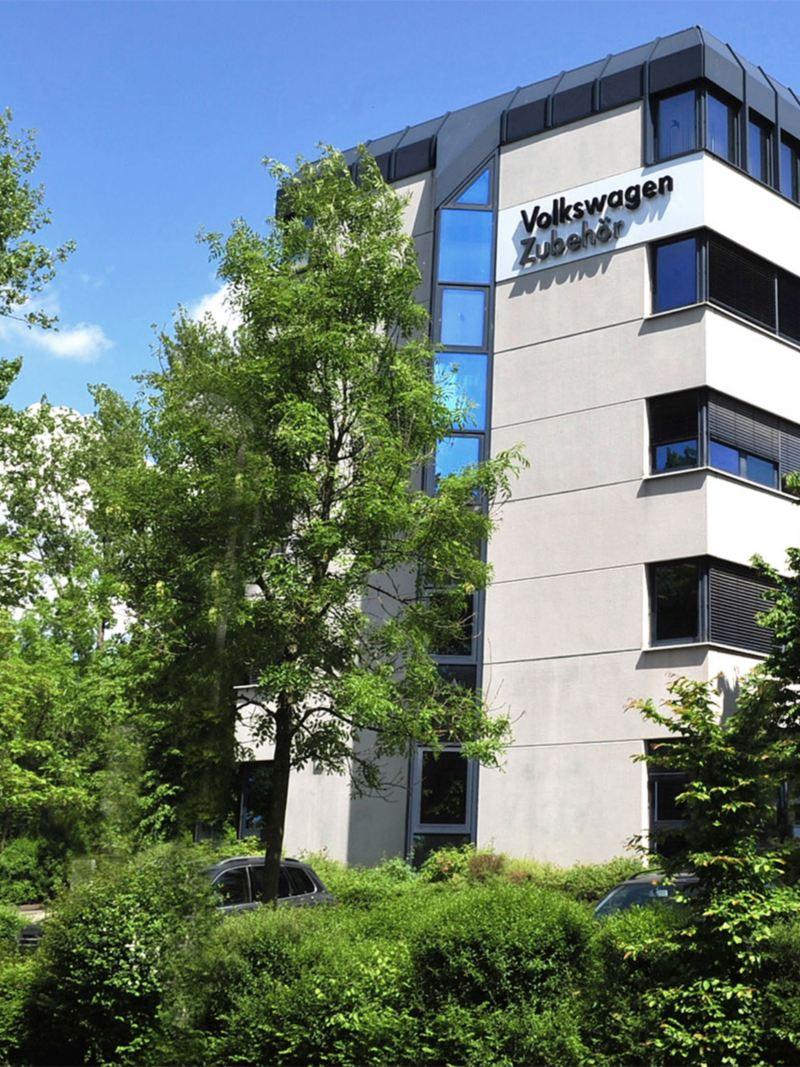 Firmengebäude der Volkswagen Zubehör GmbH