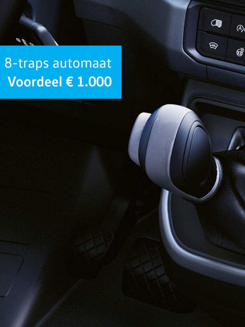 € 1.000 extra voordeel op 8traps-automaat