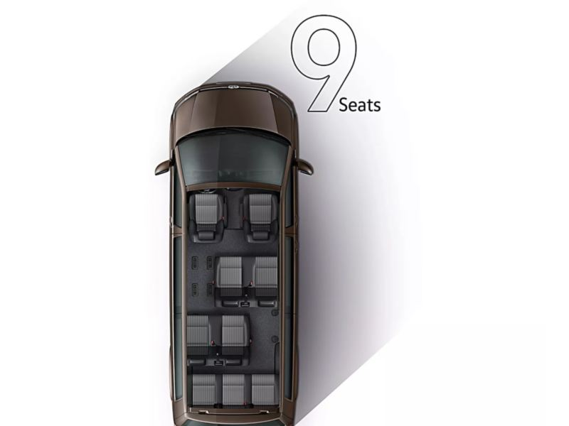 9 seats